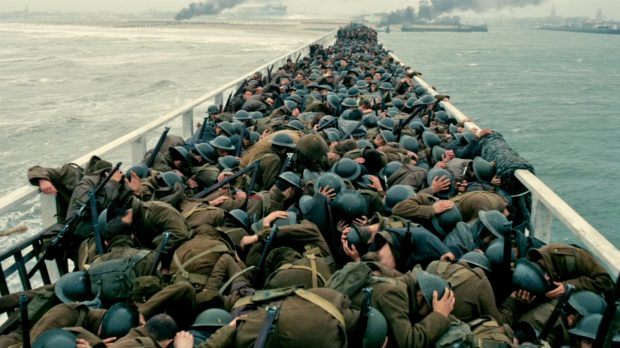 Dunkirk Soldiers Ducking