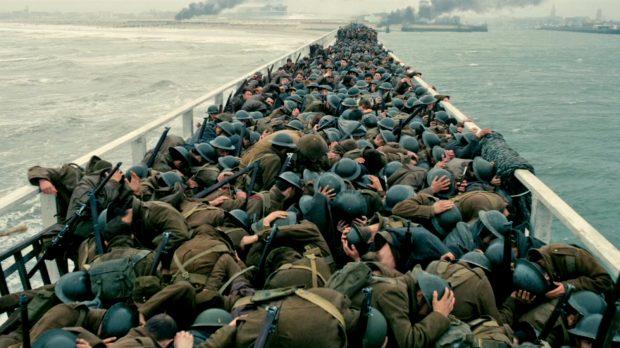 Dunkirk Soldiers Ducking